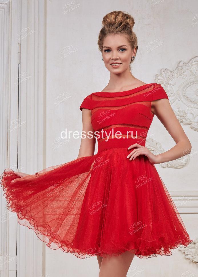 367b7493944 Красное вечернее платье с пышной юбкой CH0031B купить в интернет ...
