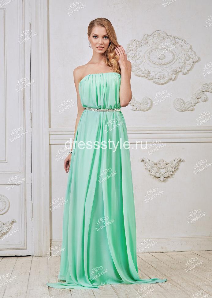 8dbc18792b1 Вечернее ярко бирюзовое платье-трансформер CH003B купить в интернет ...