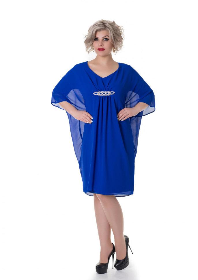 7975da85014 Платье шифоновое выше колен Сюзанна sky купить в интернет-магазине ...