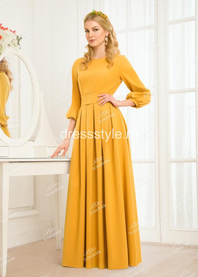 Платье с поясом кушаком фото