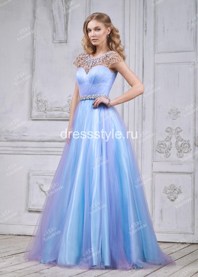cea24c941b3 Длинное вечернее платье лилового цвета MC078B купить в интернет ...